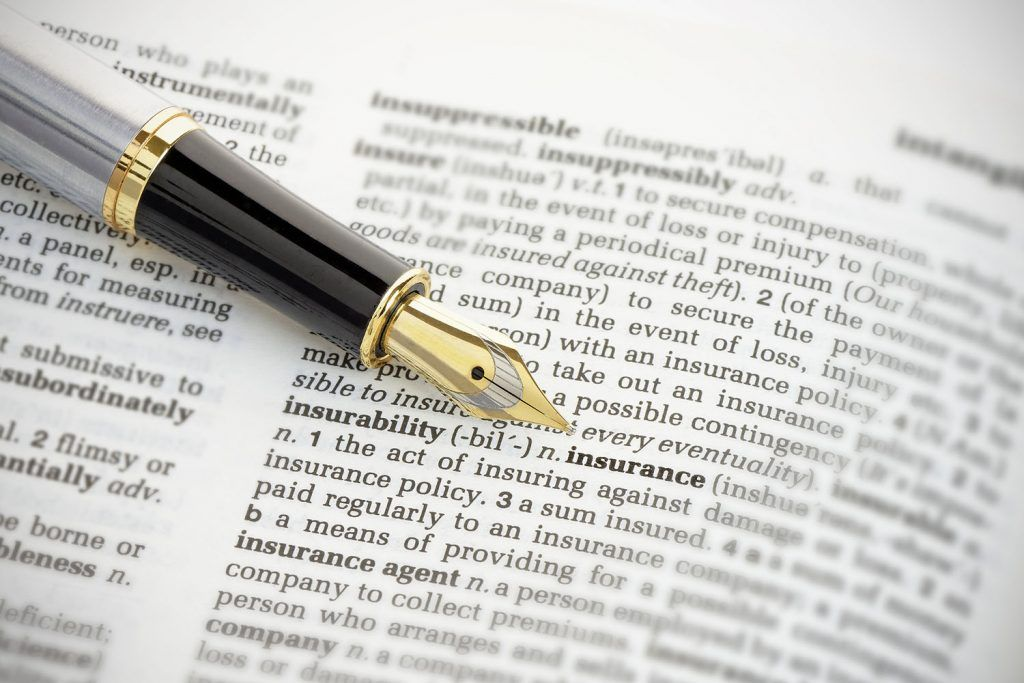 Making a professional indemnity insurance claim | Insurance and fountain pen