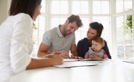 Private rental sector legislation October 2018 – are you compliant? | Family signing documents