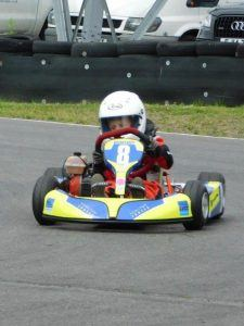 Riley Boxall racing in go cart | Riley Boxall sponsorship