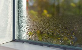 Demystifying damp, mould and condensation | Window with condensation inside a house.