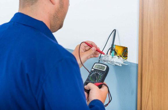 Why You Need a Landlord Electrical Safety Certificate | Electrician testing