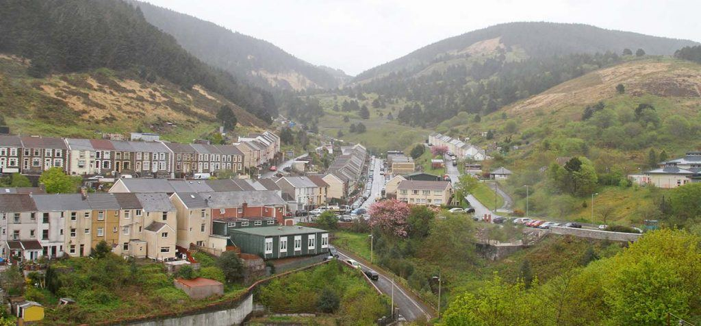 Landlords and letting agents face fee ban in Wales | View of homes in Valley town, Wales