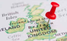 Housing hotspots in 2019 – where should you invest? | Map of UK with red pin point