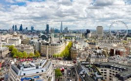 London Mayor voices support for rent control | Panoramic view of London