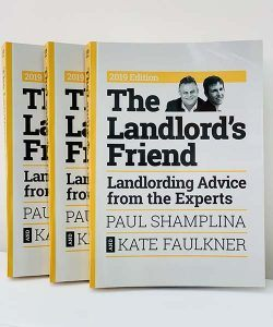 Paul Shamplina and Kate Faulkner release latest edition of their book, The Landlord's Friend