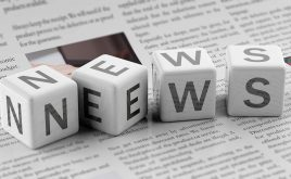 Weekly landlord news digest: Issue 19 | Cubes spelling out the word news on a newspaper