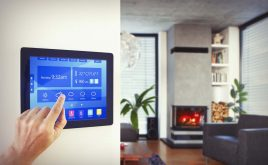 Smart homes need smarter security: Shutting the digital door | Person using home automation to control home