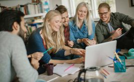 Considering renting to students? Here are 10 reasons why you should | Group of students in their rented property studying together
