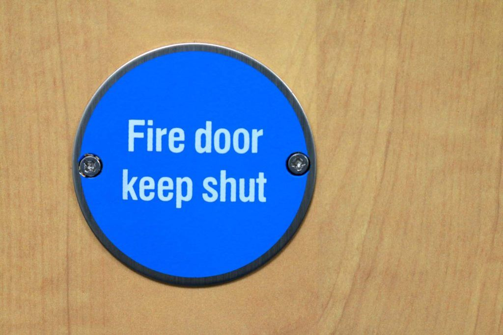 Steps to check fire doors in your rental property