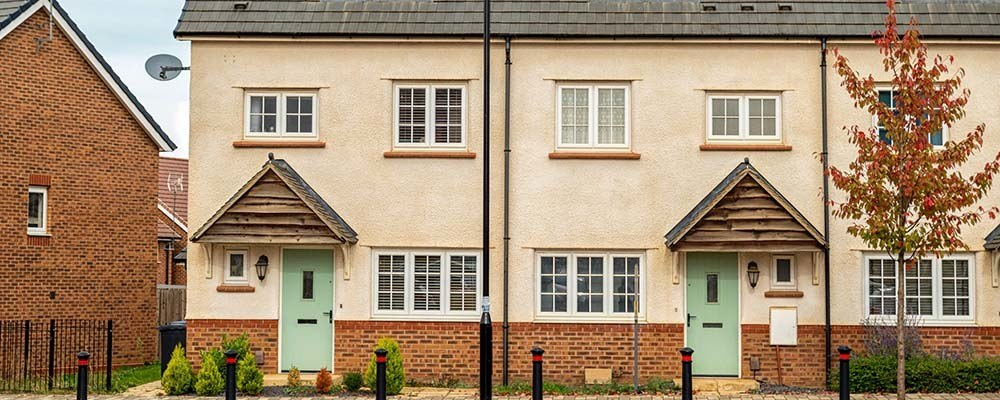 Tax advice for landlords | Row of houses