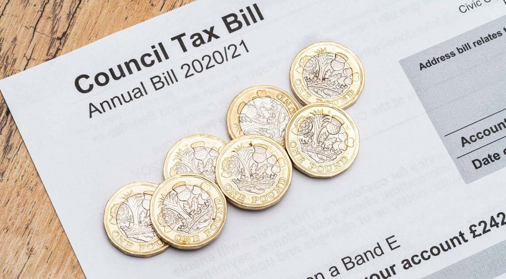 When is a landlord responsible for council tax?